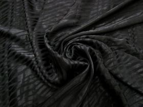 Animal Instinct Viscose Satin- Black #3262