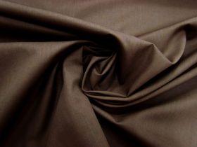 Cotton Blend Poplin- Chocolate Syrup #3271