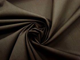 Cotton Blend Poplin- Fudge #3272