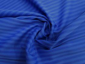 Summer Stripe Matte Spandex- Royal Blue #1297