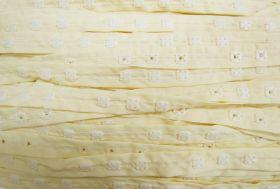 Square Snap Fastener Tape- Cream #509