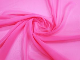 Chiffon- Fluro Pink