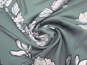 Blossom Crepe- Grey #5112