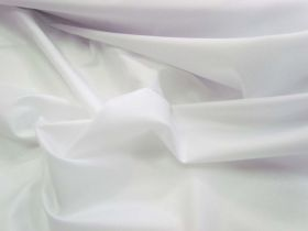 Waterproof Polyester- White