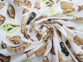 *Seconds* Seashell Cotton Jersey- Green #5115- Reduced from $14.95m