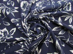 Natural Beauty Cotton Jersey- Navy #5118