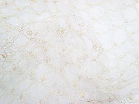 Graceful Golden Lace Tulle #3328