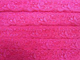 30mm Stretch Lace Trim- Cupid Pink #351