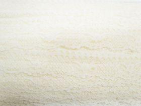 30mm Lace Trim- Lemon Cream #360