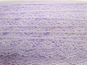 40mm Lace Trim- Candy Violet #363