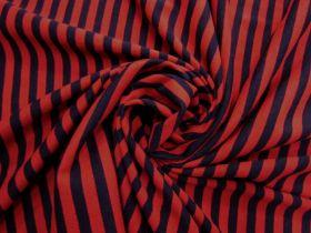 Danger Stripe Cotton Jersey #5128