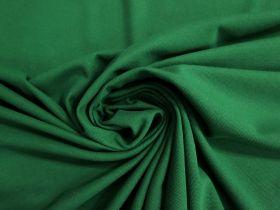 Australian Made Pique Jersey Knit- Emerald #5135