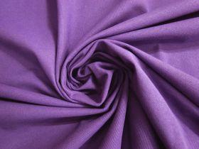 Australian Made Pique Jersey Knit- Berry Purple #5138