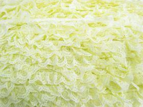 27mm Ariana Lace Frill Trim- Yellow #372