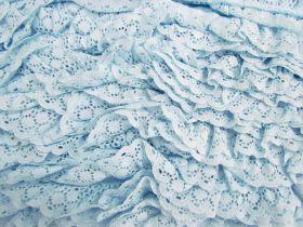 30mm Olivia Lace Frill Trim- Blue #377
