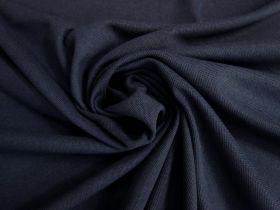 Australian Made Pique Jersey Knit- Sport Navy #5145