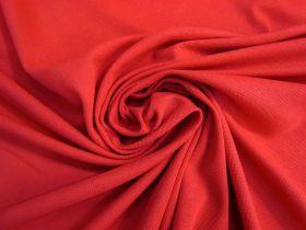 Australian Made Pique Jersey Knit- Red #5146