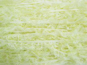 20mm Frill Lace Trim- Sweet Lemon #381