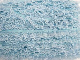 24mm Penelope Lace Frill Trim- Blue #383
