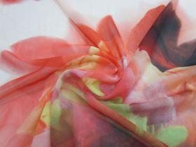 Dragon Flower Chiffon #1377