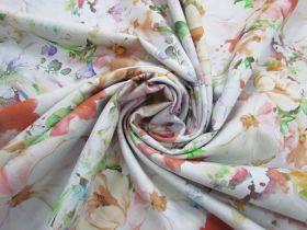 274cm Wide Quilt Backing Cotton- Dazzling Bouquet- Pastel #5170