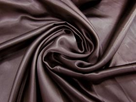Acetate Satin- Chocolate Syrup #1393