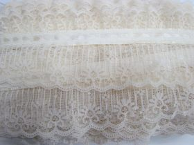 Picket Fence Garden Lace- Antique Ivory #3432