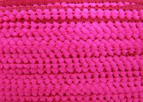 Petite Pom Pom- Fluro Pink