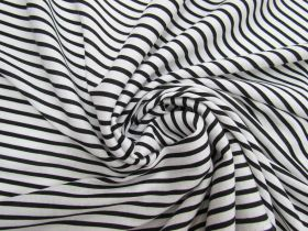 Soft Interlock Jersey- Domino Stripe #5193