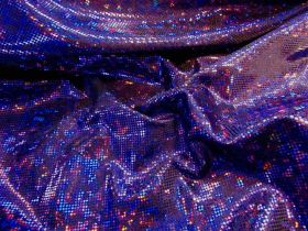 Dark Shattered Glass- Purple on Black