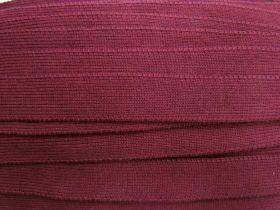 25mm Tick Rib Trim- Burgundy #3507