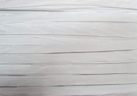 15mm Budget Elastic- Shiny White #520