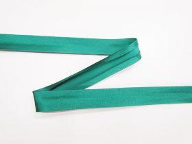 15mm Satin Bias Binding- Deep Jade #649