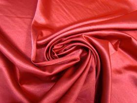 Stretch Satin- Lady Bird Red #5231