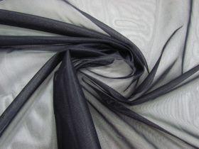 Rigid Nylon Tricot- Smokey Black #1453