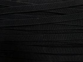 12mm Budget High Density Elastic- Black #387