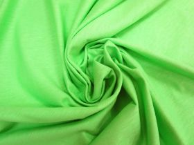 Tubed Cotton Jersey- Paradise Green #5237