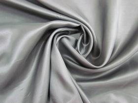 Acetate Twill Lining- Metallic Grey