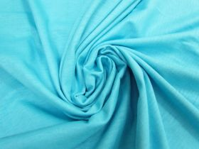 Tubed Cotton Jersey- Summer Aqua #5238