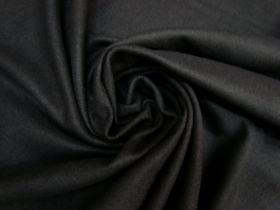 Wool Blend Flannel- Mood Black #5248