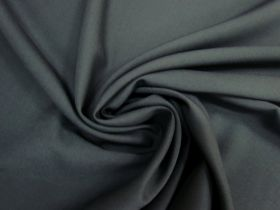Wool Blend Gaberdine- Seal grey #5250