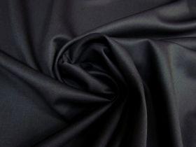 Wool Blend Gaberdine- Dark Blue Black #5252
