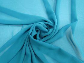 Lightweight Georgette- Jade Blue #3557