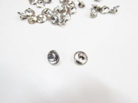 12mm Diamonte Buttons- Small
