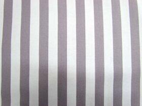 Half Inch Stripes- Grey
