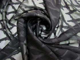 Lightning Strike Chiffon- Black #5260