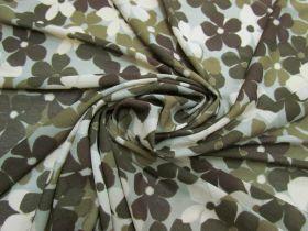 Camouflage Flower Stretch Mesh #5277