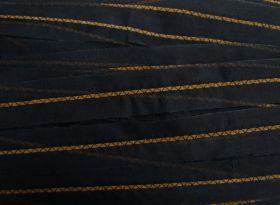 Bulk Trim Pack- Organza Trim With Suede Detail- 50 metres $15