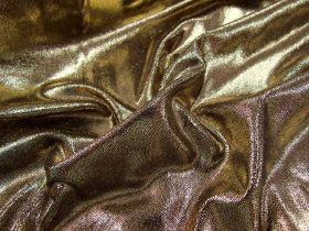 Fog Finish Spandex- Gold on Black