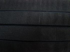 Budget Elastic- 38mm Ribbed #525- Black